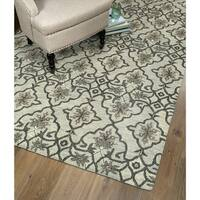 Hand-Tufted Christopher Imperial Mint Wool Rug - 9' x 12'