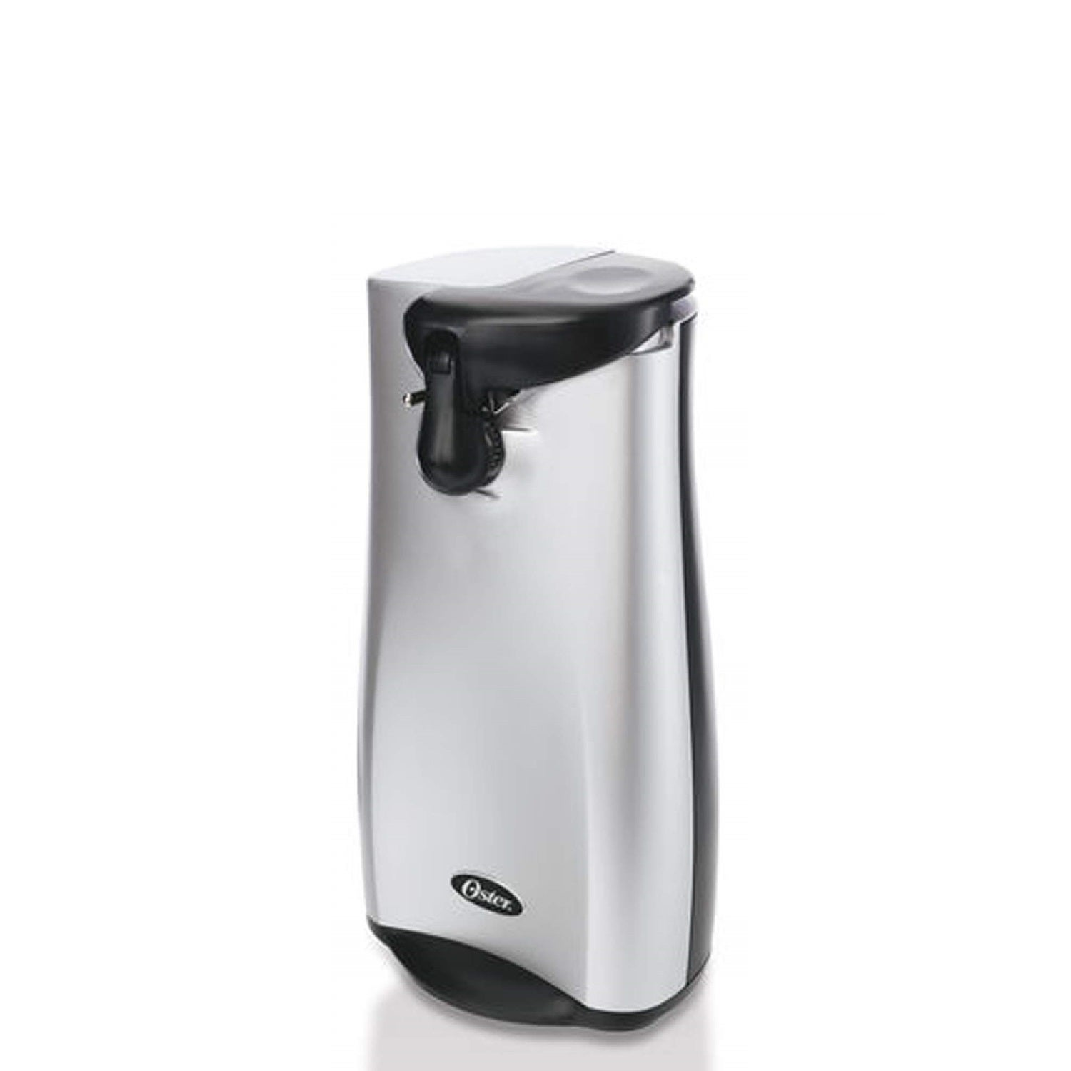 Oster Electric Can Opener with Retractable Cord, Silver s...