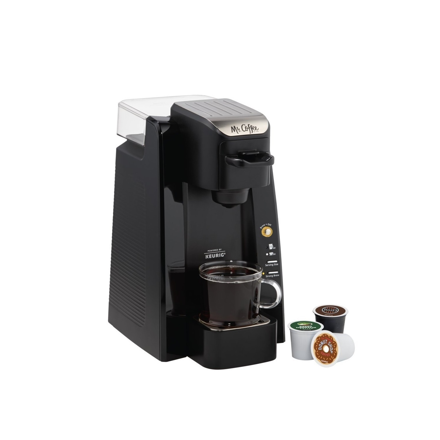 Mr Coffee Single K-Cup Brewing System, Black
