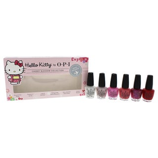 OPI 6-piece Nail Lacquer Mini Hello Kitty Cherry Blossom Collection