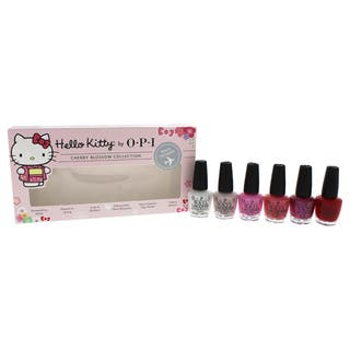 OPI 6-piece Nail Lacquer Mini Hello Kitty Cherry Blossom Collection|https://ak1.ostkcdn.com/images/products/16273089/P22637390.jpg?impolicy=medium