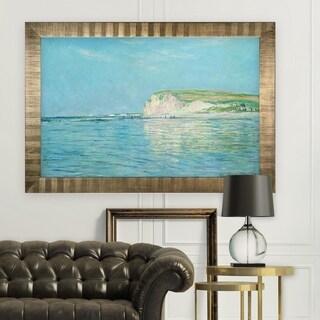Low-Tide -Claude Monet -Antique Gold Frame