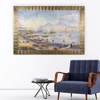 Bay-of-Naples -by Renoir- -Antique Gold Frame