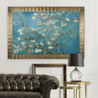 Almond-Blossom -by Van Gogh -Antique Gold Frame