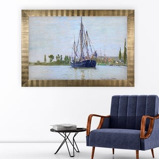The Sailing Boat -Antique Gold Frame