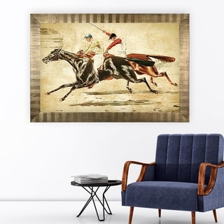Equine Sketch V -Antique Gold Frame