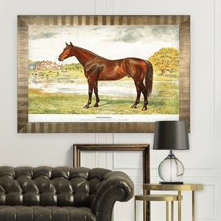 Equine Sketch XXVII -Antique Gold Frame