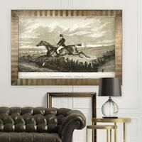 Equine Sketch XXXI -Antique Gold Frame