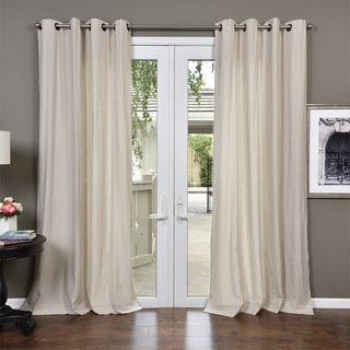 Link to Lambrequin Alea Linen Blend Curtain Panel Similar Items in As Is