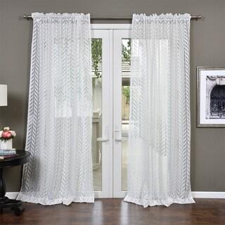 Lambrequin Aria Semi Sheer Curtain Panel