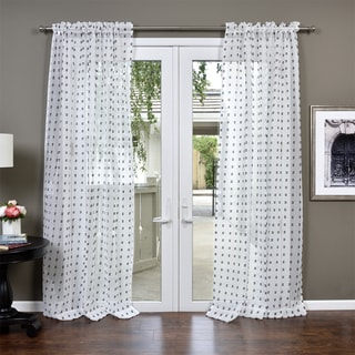 Lambrequin Nura Semi Sheer Curtain Panel