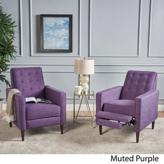 Purple Living Room Chairs For Less | Overstock
