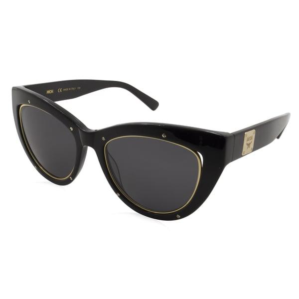 08cd4c1c0a Shop MCM Women s Sunglasses - MCM603S Frame  Black Lens  Black ...