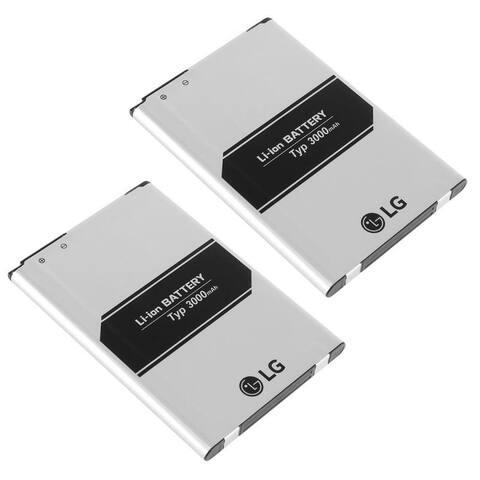 LG G4 3000mAh OEM Original Standard Battery Replacement BL-51YF in Bulk Packaging (Pack of 2)