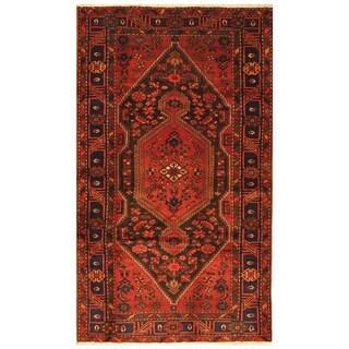 Handmade One-of-a-Kind Hamadan Wool Rug (Iran) - 4'7 x 7'10