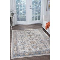 Fairfax Traditional Ivory Area Rug (5'3'' x 7'3'')