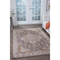 Alise Fairfax Traditional Multi Area Rug - 7'10 x 10'3