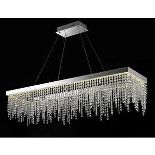 Crystal Roc Rectangular Chandelier