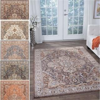 Fairfax Traditional Multicolor Area Rug (9'3 x 12'6)