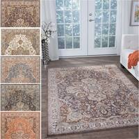Fairfax Traditional Multicolor Area Rug (9'3 x 12'6)