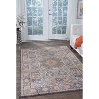 Alise Fairfax Traditional Multi Area Rug - 6'7 x 9'6