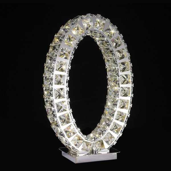 Cystal Extravaganza- Carrousel Led Large- Table Lamp