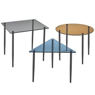 Brassex 3-Piece Nesting Table Set