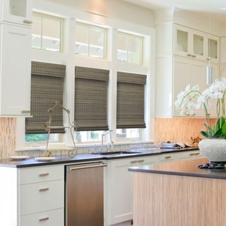 overstock roman shades bamboo overstockcom radiance cordless driftwood roman shade buy shades online at our best window