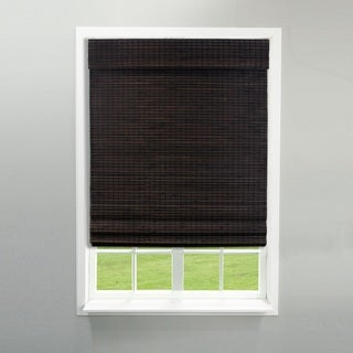 Link to Radiance Cordless Espresso Roman Shade Similar Items in Window Treatments