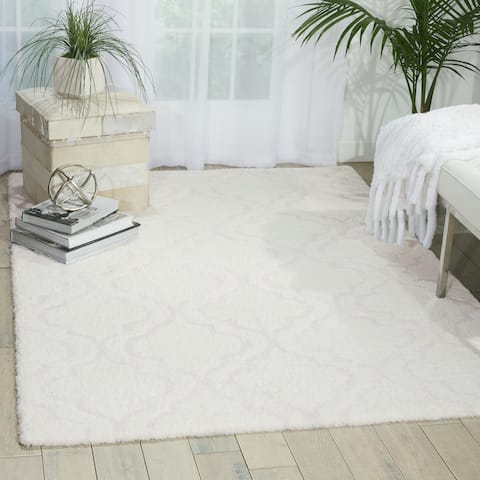 kathy ireland Light & Airy KIT01 Shag Area Rug