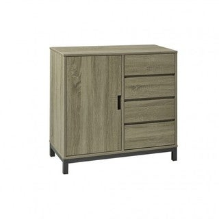 Brassex Buffet / Server, Dark Taupe