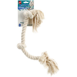 """3-Knot Rope 25""""-Large - White"""