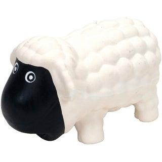 "Rascals 6.5"" Latex Sheep Dog Toy-White"