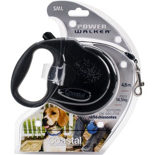 Power Walker 16' Retractable Dog Leash Small