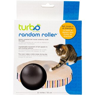 "Turbo 22"" Random Roller Cat Toy"