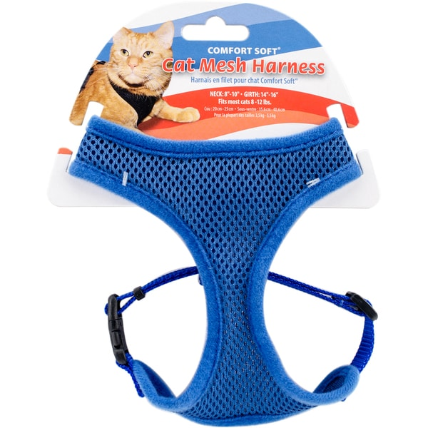 Comfort Soft Adjule Mesh Cat Harness Free Shipping On Orders Over 45 16279372
