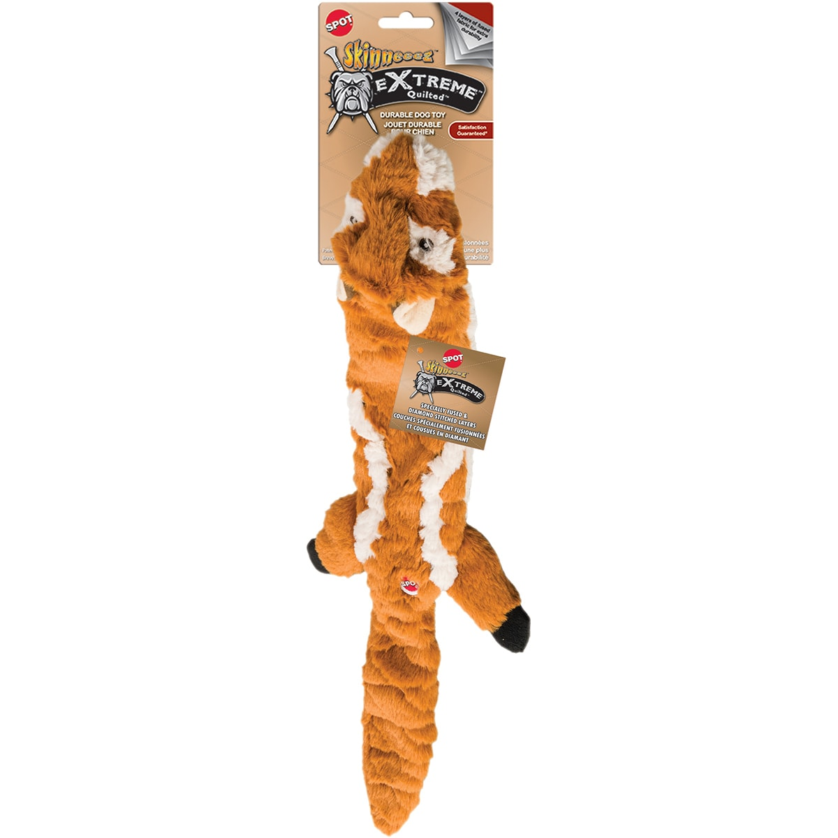 """Ethical Pets Skinneeez Extreme Quilted Chipmunk 23"""" (Extr..."""