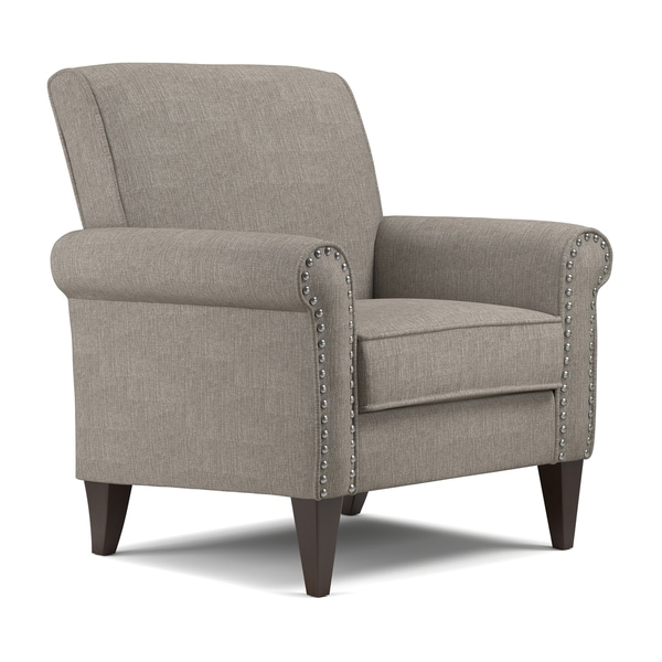 Copper Grove Herve Dove Grey Linen Arm Chair. Opens flyout.