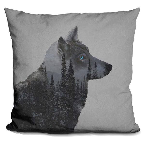 Davies Babies 'Winter Wolf' Throw Pillow