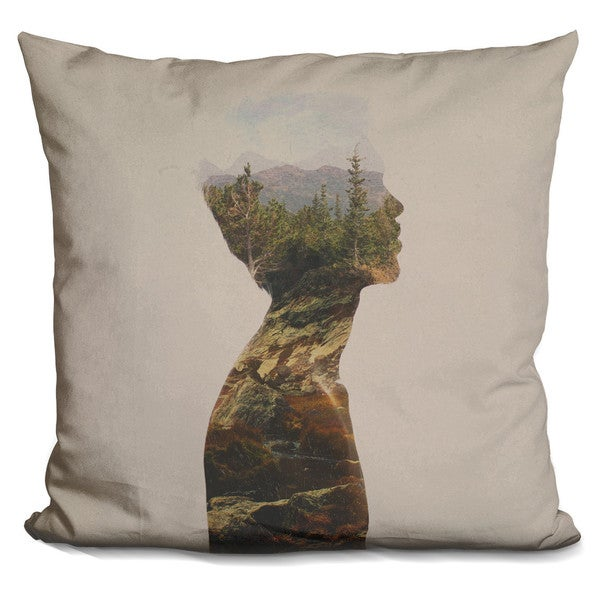 Davies Babies 'Side By Side' Throw Pillow