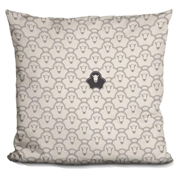 Davies Babies 'Black Sheep' Throw Pillow