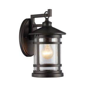 Chloe Abbington Collection 1-light Oil Rubbed Bronze Outdoor Wall Lantern