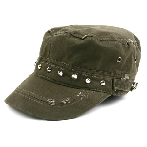 Pop Fashionwear 100% cotton Army-Inspired Cadet Hat