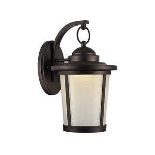 Chloe Abbington Collection 1-light Oil Rubbed Bronze Outdoor LED Wall Lantern