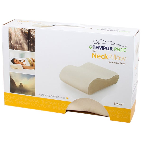 Shop Tempur Neck Memory Foam Travel Pillow Free Shipping