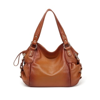 Irene Leather Shoulder Handbag