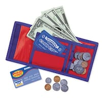 Learning Resources Pretend & Play Cash 'n Carry Wallet