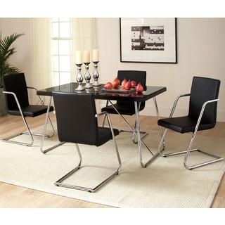Contemporary Retro Style Casual 5-piece Dining Set