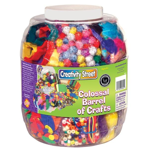 Pacon Creativity Street® Colossal Barrel of Crafts