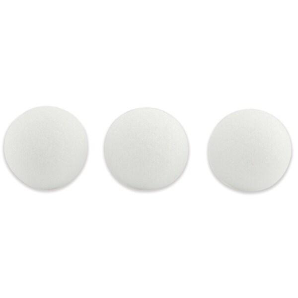 "Hygloss Polystyrene Balls, 3"", 50 Pieces"